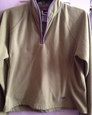 Northface pull over jacket
