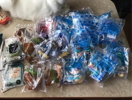 Lot of 27 McDonald's toys