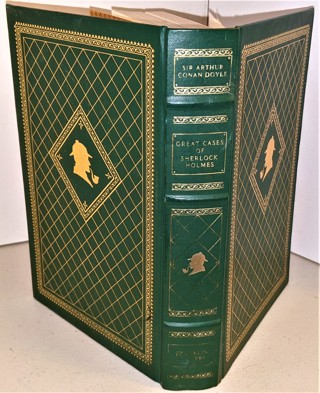 1987 The Great Cases of Sherlock Holmes - hardcover - 483 pages + maps