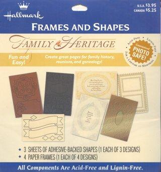 free family heritage scrapbook die cut embellishments new hallmark