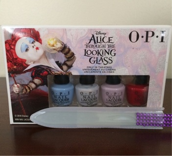 OPI Alice through the looking glass polish set