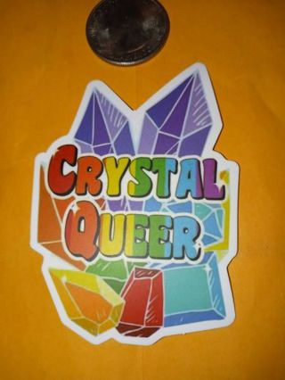 LGBT Cool nice vinyl sticker no refunds regular mail only Very nice quality!