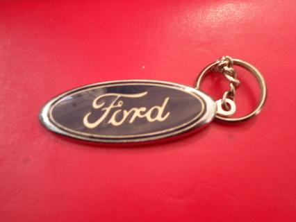 Ford Racing Key Chain