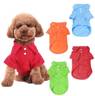 SALE! KINGMAS 4 Pack Dog Shirts Pet Puppy T-Shirt Clothes Outfit Apparel Coats Tops