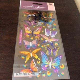 Sticko butterfly stickers