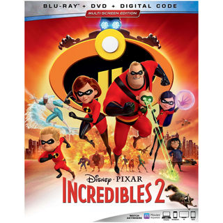 Incredibles 2 (Digital HD Download Code Only) **Samuel L. Jackson** **Holly Hunter**