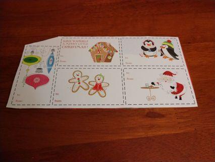 5 Christmas Gift Tags
