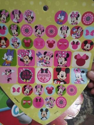 Minnie mouse huge sticker sheet lowest gins! No refunds! No lower! Selling out!