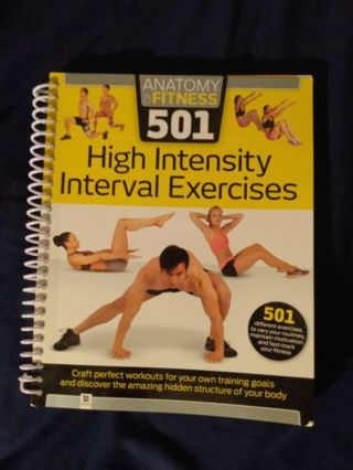 HIIT fitness book.