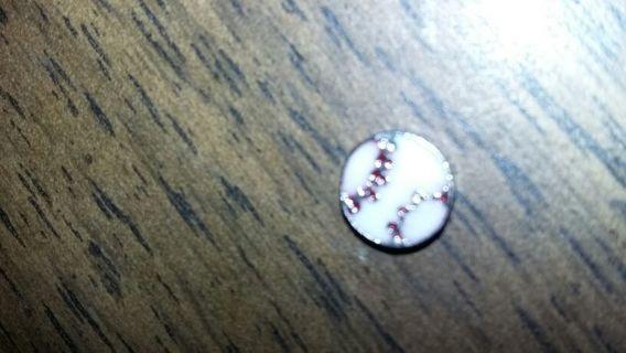 Baseball for the living locket