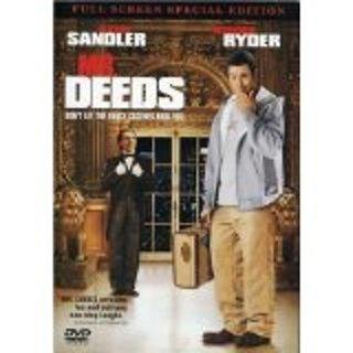 Mr Deeds dvd widescreen