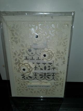 3D wedding card
