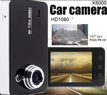 1-N.I.B. K6000 NOVATEK 1080P Full HD LED Night Vision Recorder Vehicular Dash Cam DVR