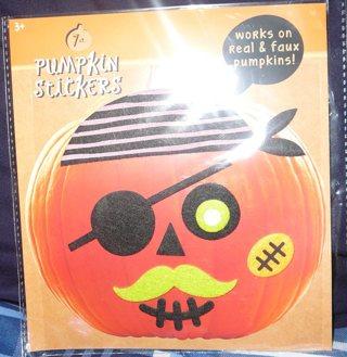 New Pumpkin Stickers For Halloween