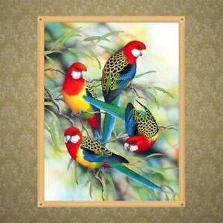 Parrot 5D Diamond Painting DIY Embroidery Cross Stitch Home Decors Needlework