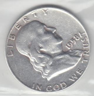 1958 D - Franklin Half Dollar * NICE * 90% Silver Coin SCB 192048