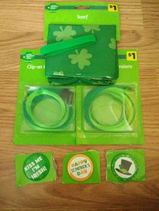 BN 7pc Happy St. Patrick's Day Lot #3
