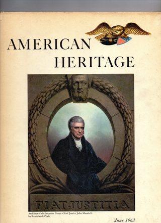 Vintage American Heritage Hard Covered Book: June 1963