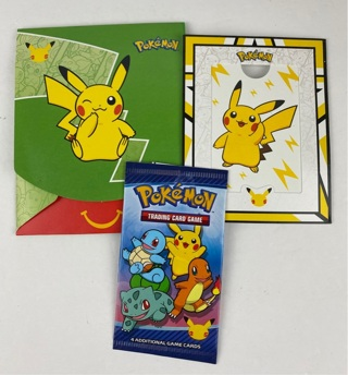 2021 McDonalds Happy Meal Pokemon Cards ( # 4 Pokemon Pack) ~ FREE SHIPPING