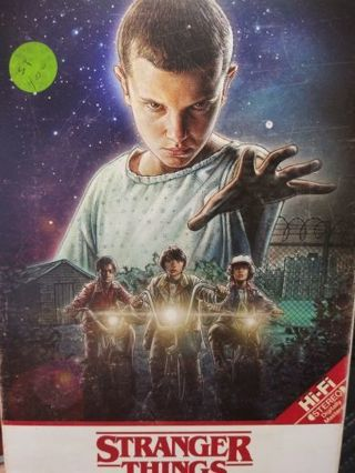 Stranger Things Season 1 and 2 Blue ray Disc ONLY