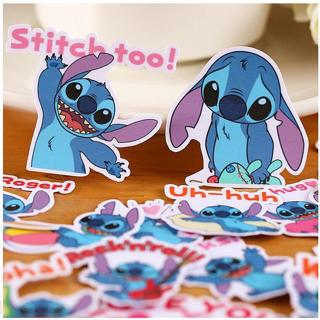 22pcs Creative Cute Self-made Stitch sticker Scrapbooking Stickers /Decorative Sticker /DIY Craft