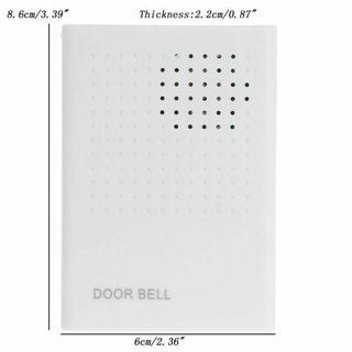 Door bell alarm go home
