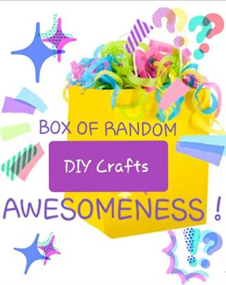Ever Growing Random Box of DIY Craft Awesomeness!