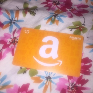 Amazon Gift Card Code $10 GIN ONLY Digital Delivery