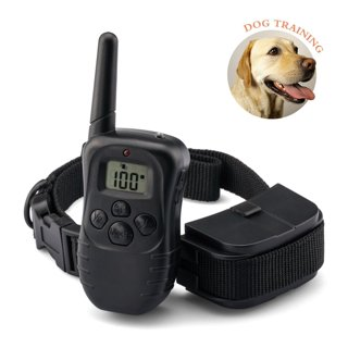 Dog Training Collar Water-resistance 330yd Remote