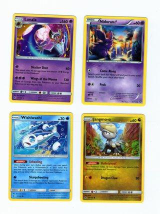 Pokemon 4 Cards