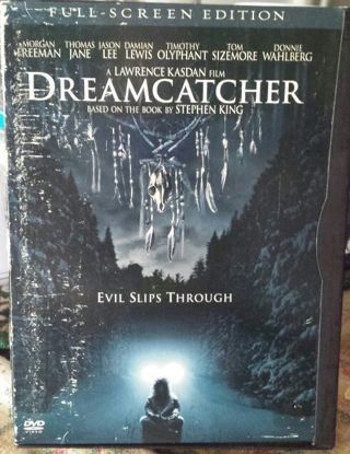 Stephen King Dreamcatcher full screen DVD (See photos)