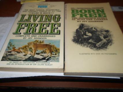 Born Free & Living Free Paperback Books