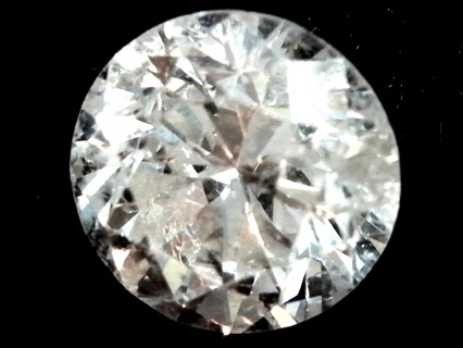 DIAMOND NATURAL AND JUST BEAUTIFUL SI QUALITY AND OVER 2/5 THS OF A CARAT THIS IS A STEAL OF A DEAL!