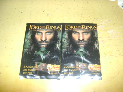 Lord of the Rings Flip cards