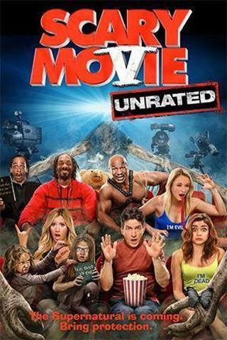 """Scary Movie 5 (Unrated)"" HDX-""Vudu"" Digital Movie Code"