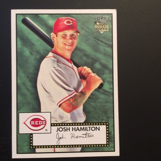 2007 TOPPS: Josh Hamilton RC card #85