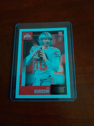 Joe Burrows rc Cincinnati Bangles