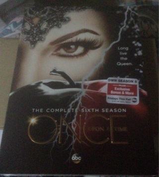 BN 6th season of Once Upon a Time DVDS