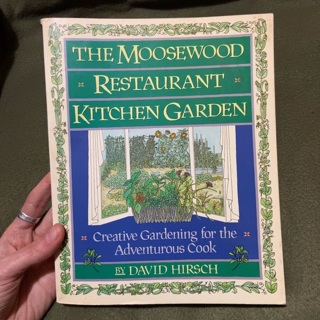 The Moosewood Restaurant Kitchen Garden - vegetarian cookbook & garden advice - GIN free shipping!