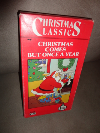 Christmas Comes But Once A Year.Free Vhs Christmas Classics Movie Christmas Comes But Once