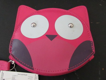 NWT- CUTE LITTLE OWL COIN PURSE