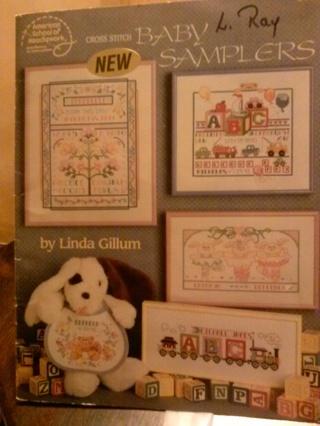 Vintage Cross Stitch Pattern Books/Leaflets/Pamphlets (B-912) Group of 8