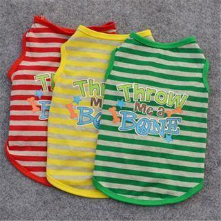Small Pet Dog Vest Unisex Puppy Cat Coat Clothes T-shirt Summer Apparel Costumes