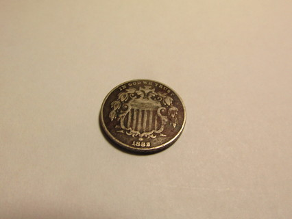 1882 US 5 Cent Coin