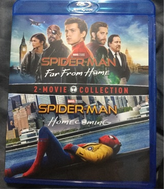 Spider-Man: Homecoming & Spider-Man: Far From Home Digital Download Code