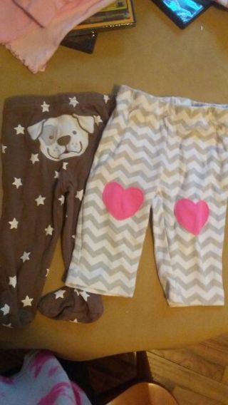 3 to 6 months pants