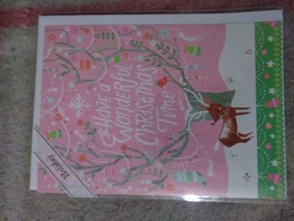 Brand New Christmas Card with Envelope