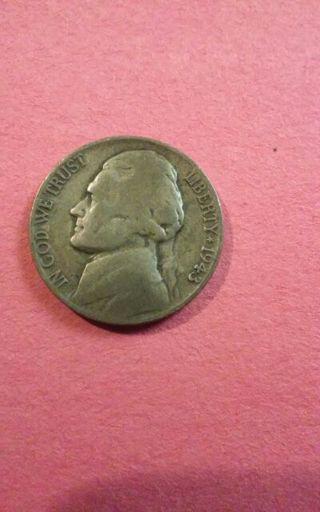 1943-P Silver War Nickel. 35% silver. #71