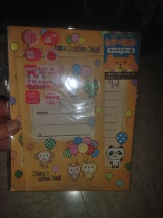 Kawaii letter set