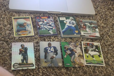 *56 Seattle Seahawks NFL Football Cards STARS Hall of Famers Sherman Wilson